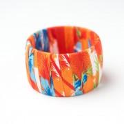 CWH51(2)_Caribbean Cloth Bracelet