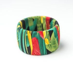 CWH51_Caribbean Cloth Bracelet