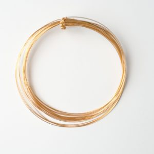 CWH5_Gold plated multistrand necklace (2)
